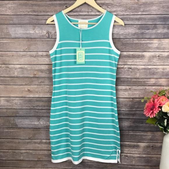 c4b15ec3c594 Sail to Sable Dresses | Sail To Stable Striped Knit Sleeveless Dress ...